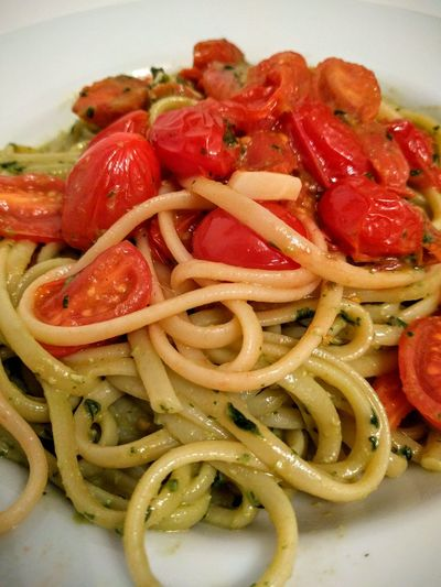 Tomatoes Pasta Dinner Time