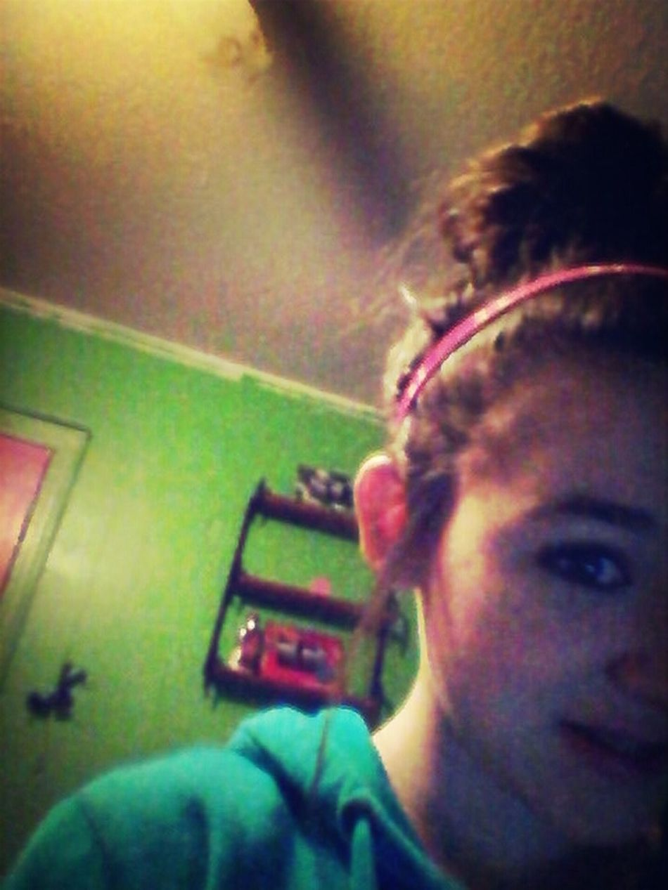 Messy Hair&i Really Dont Care(;