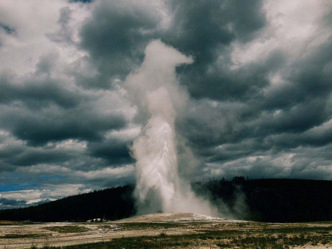 Ascend | Old Faithful Yellowstone Yellowstone National Park First Eyeem Photo