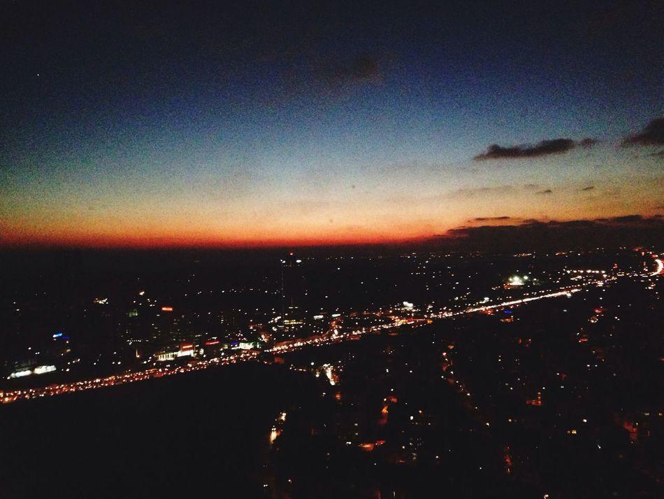 Yüksekde olmak bana göre✌️ Relaxing Hello World Peak Sky