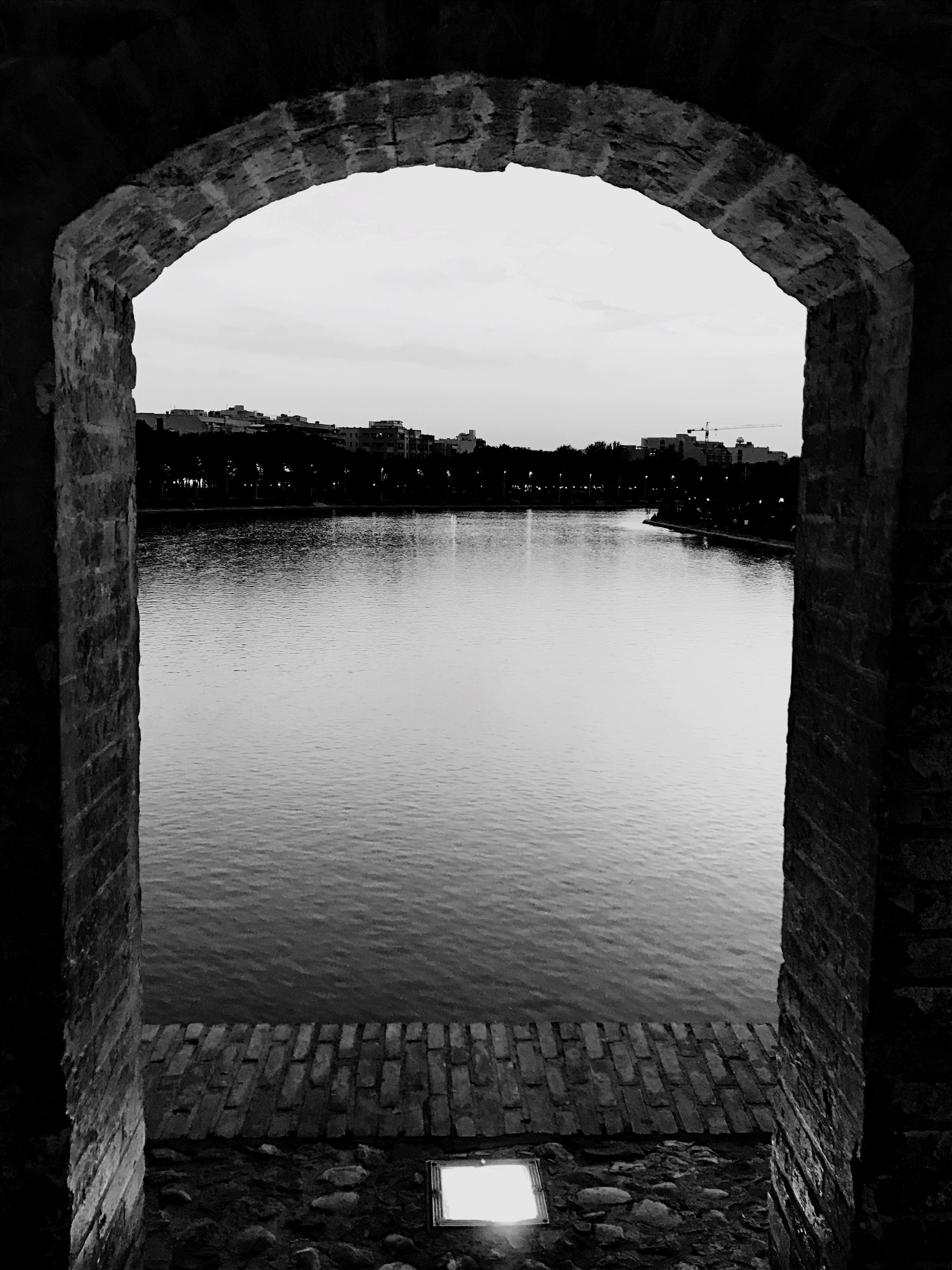 water, architecture, built structure, arch, reflection, day, no people, sky, nature, scenics, clear sky, outdoors, beauty in nature