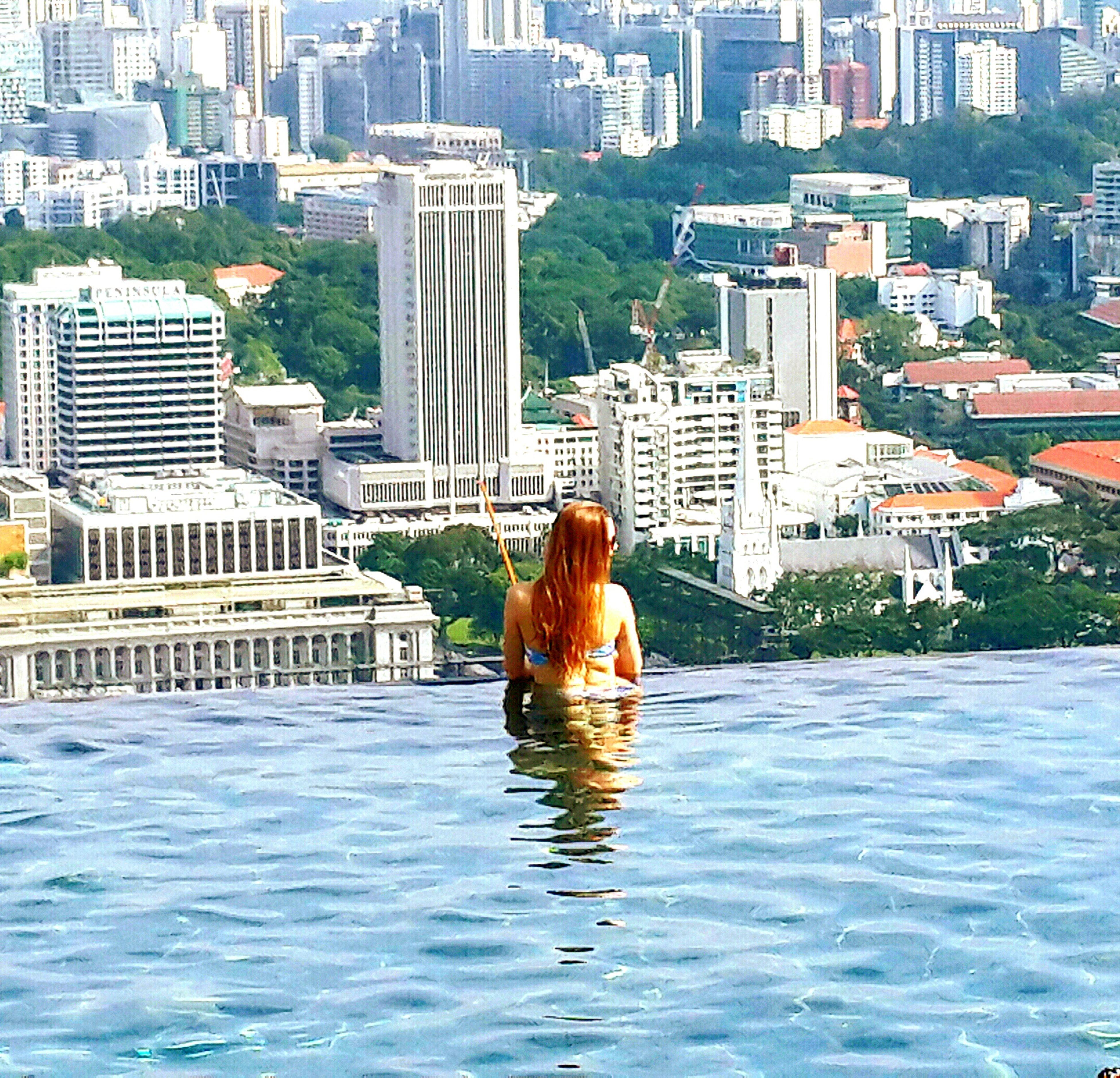 Eyeem Best Shots.- MBS Urban Geometry Swimming Pool Water Reflection Relaxing Time Enjoying Life