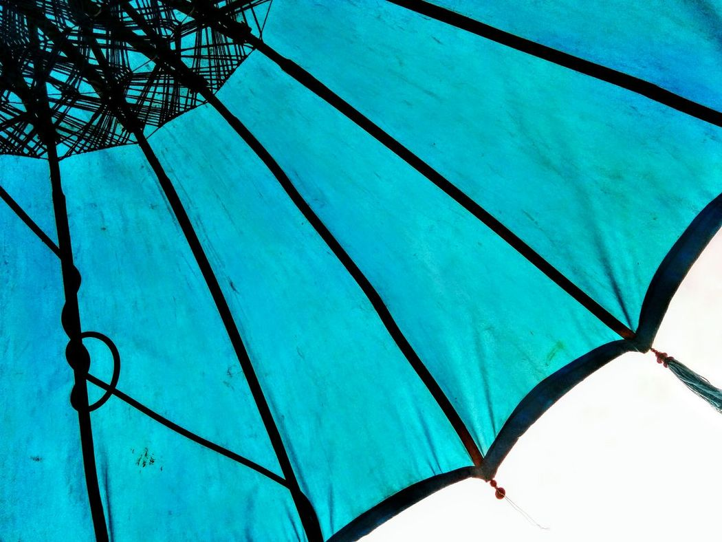 Umbrella Enjoying Life Blue Lifestyle Beach Life