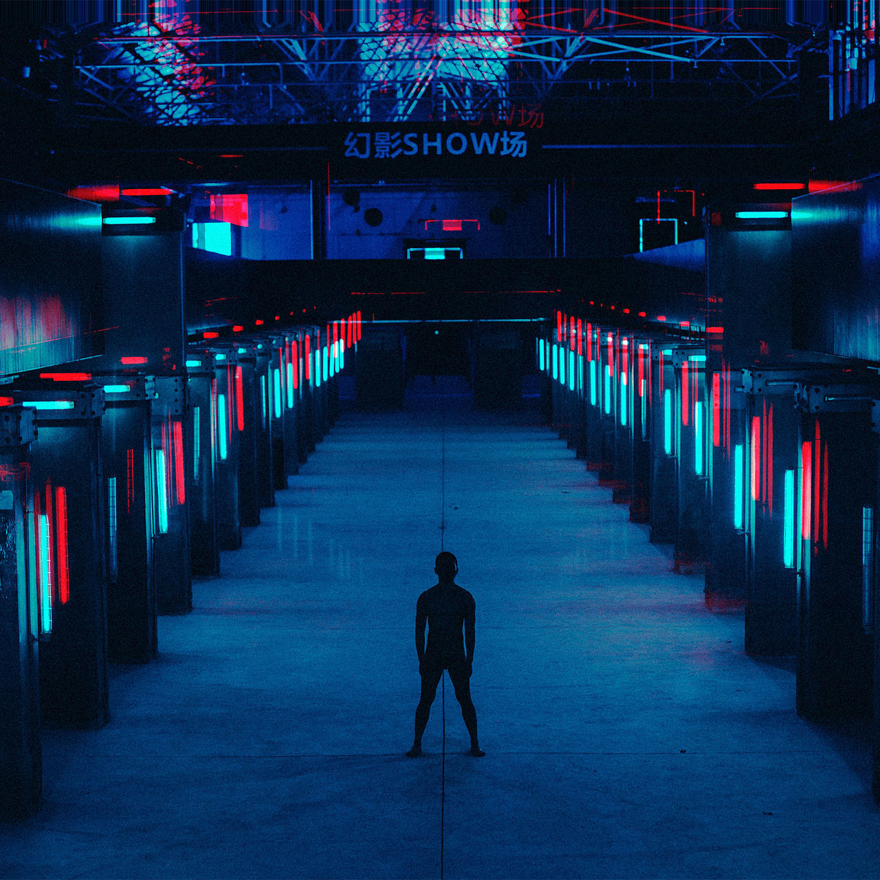 Adult Architecture day illuminated In a row indoors men one man only one person only men people neon life