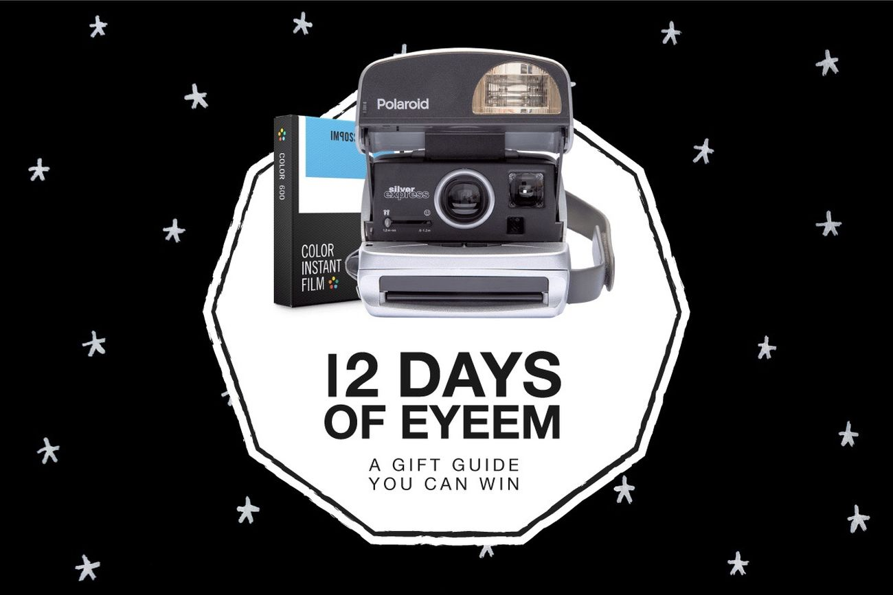 ✨ On the 10th day of #12DaysOfEyeEm, my true love sent to me... a Polaroid 600 camera plus 3 films! ✨ ❤️ & RT the following tweet to win: https://twitter.com/EyeEm/status/811533842762842112