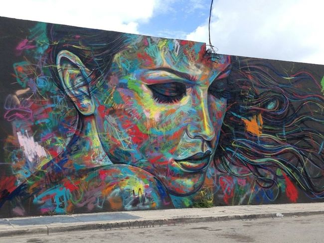 Graffiti Wynwood Walls Streetart Enjoying Life