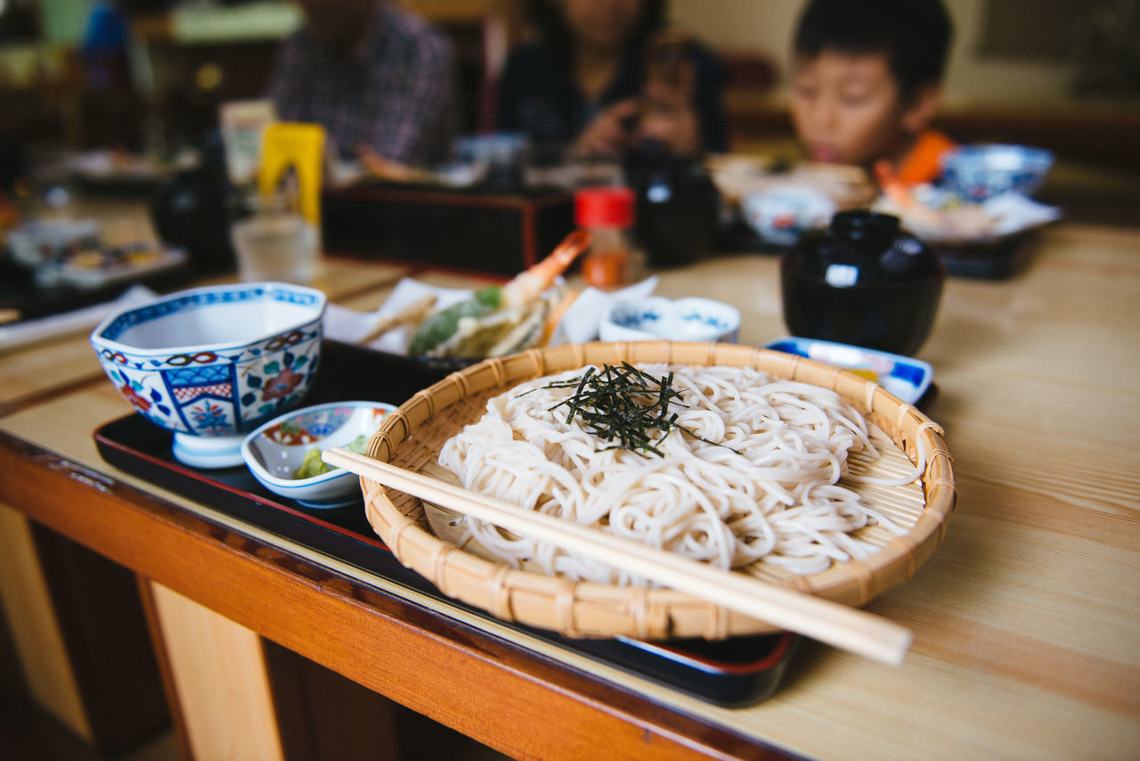 Soba noodles Adult Chopsticks Day Family Food Food And Drink Freshness Indoors  Japanese Food People Soba Traditional Zen