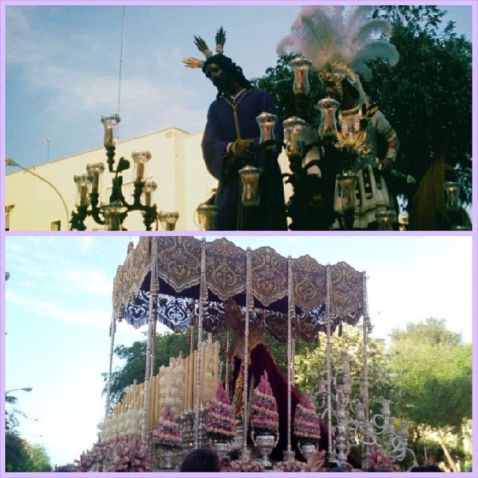 Preciosa la Hermandad de Pino Montano y espectacular el exorno floral del palio Cuaresma2014 TDSCOFRADE Sevillahoy