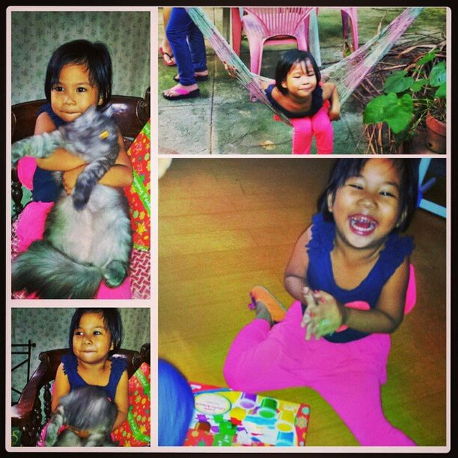 My laughing princess... Superrrhappy Mylittlefairy Princess FamilyTime