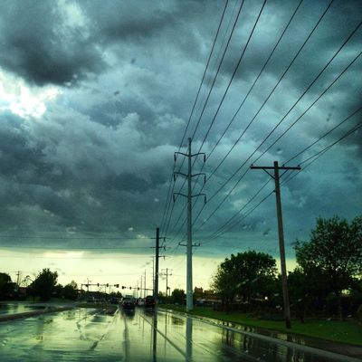 sky in Oklahoma City by Shannon Priddy
