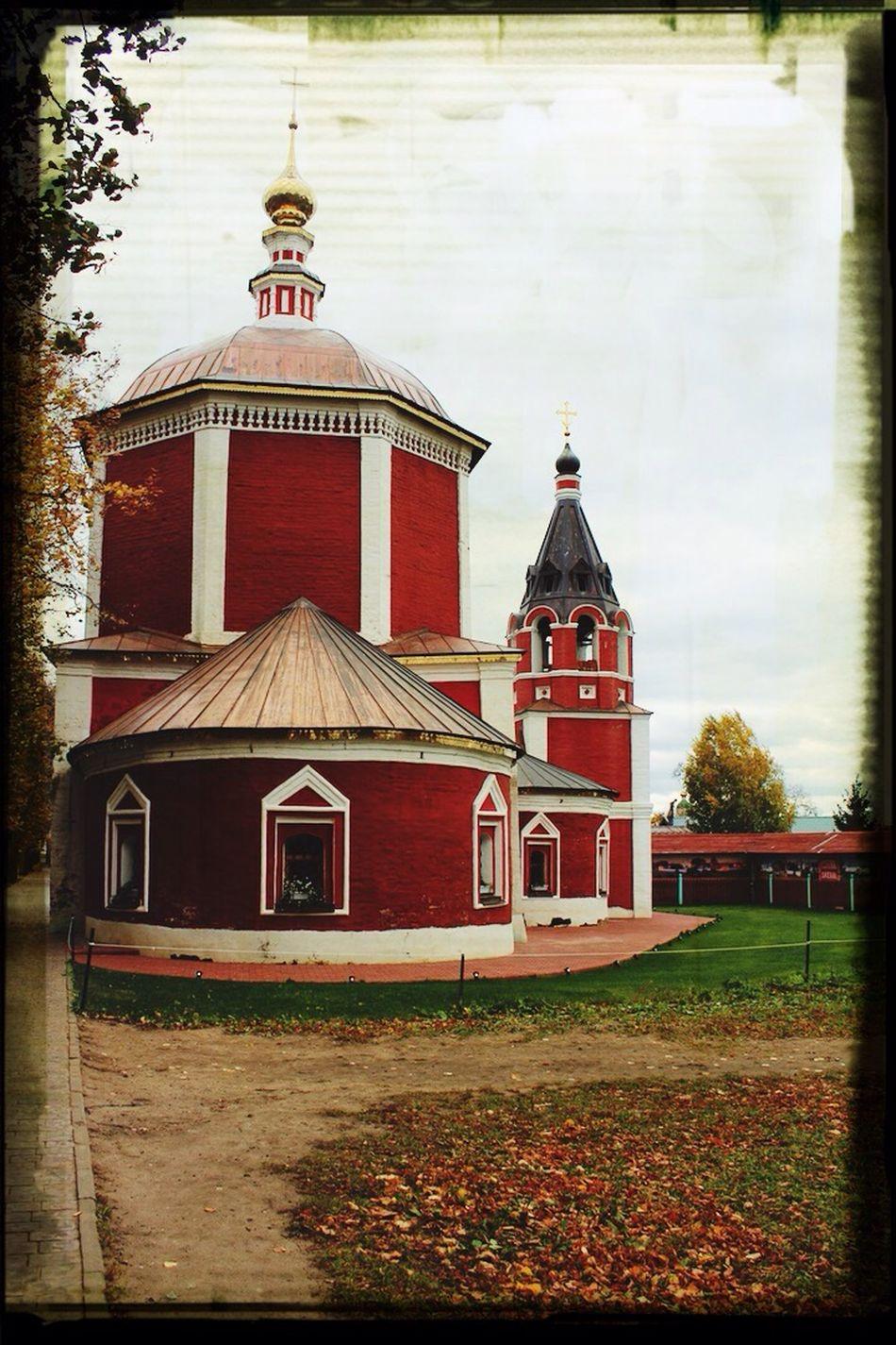 Командировка архитектура храм Odream