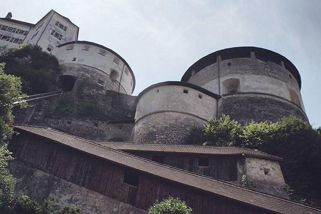 Beautiful Old Architecture and Design . A View of the Medieval FestungKufstein Festung Fortress . Kufstein Tirol  Österreich Austria . Taken by my Sonyalpha A57 DSLR Dslt . تصميم معمار برج قصر النمساء
