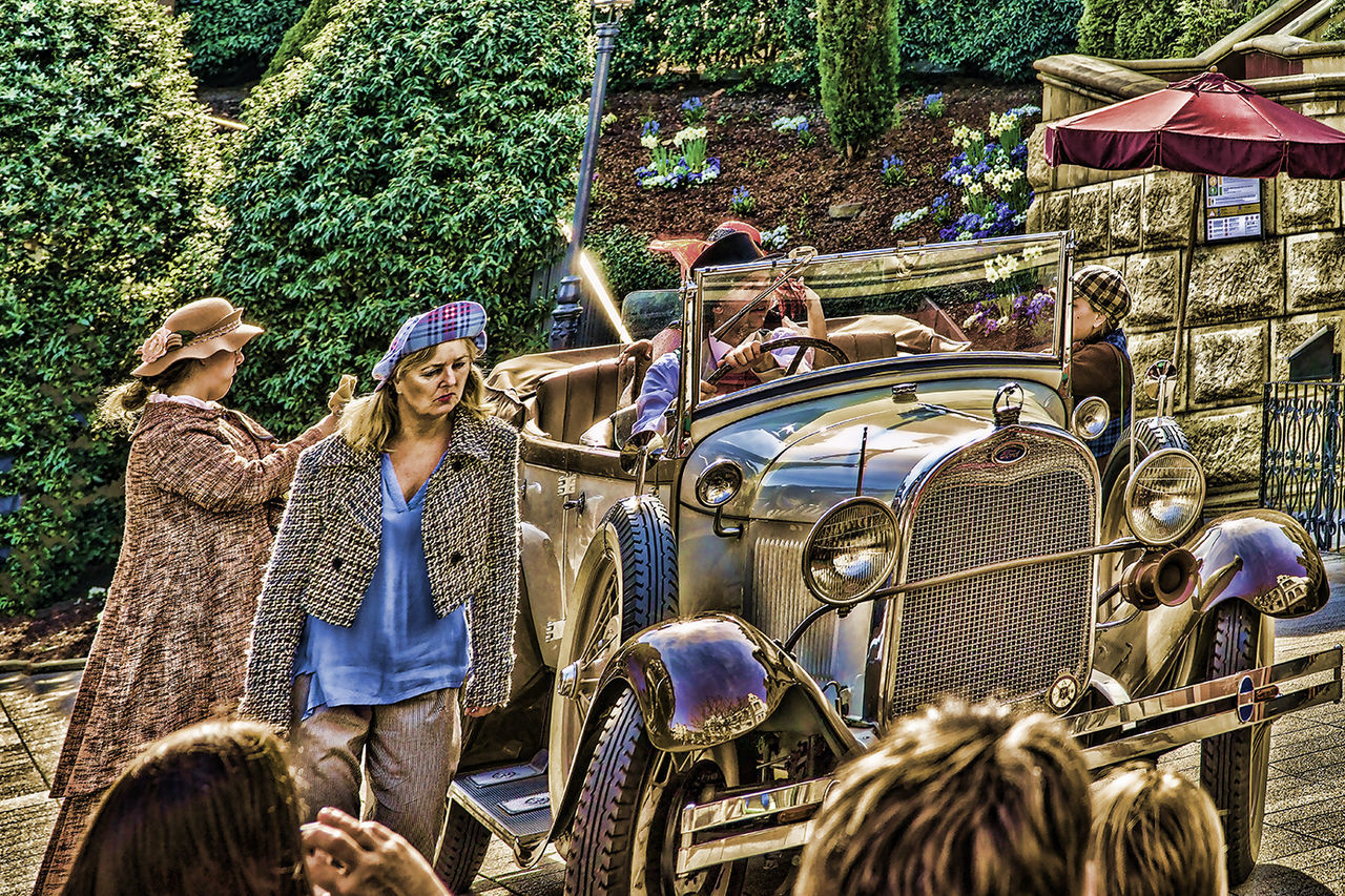 Phantasialand Ford Hdrphotography Leisure Activity Lifestyles Old Car Oldie  Outdoors Phantasialand