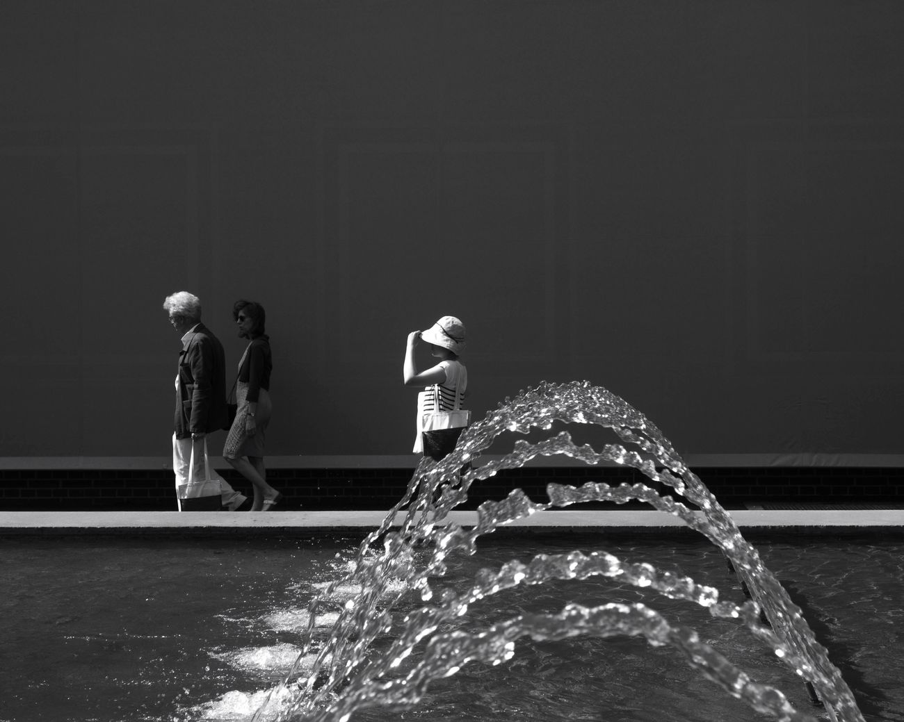 Water Outdoors Streetphotography Fountain Art Basel Waterdrops Real People Day The Street Photographer - 2017 EyeEm Awards