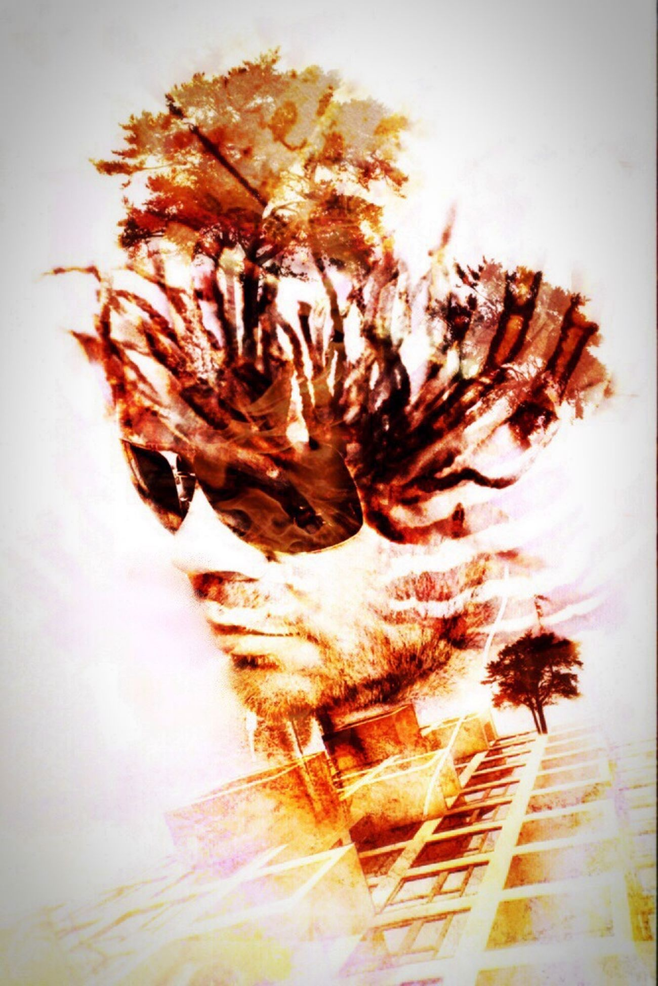 Sangue, gozo e arquitetura NEM Self We Are Juxt Surrealism