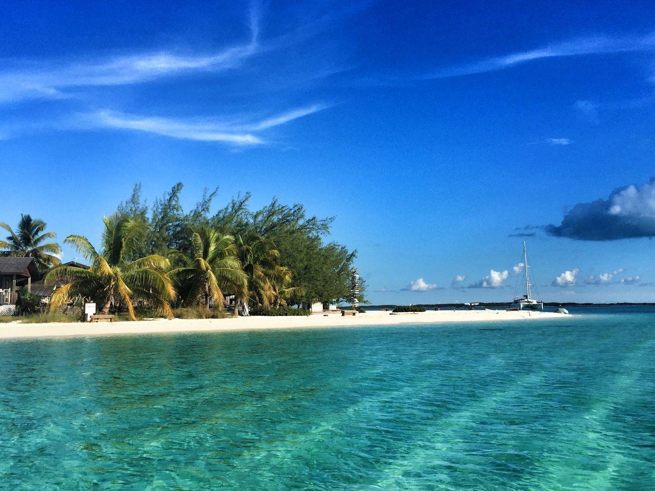Beautiful stock photos of bahamas, Beach, Beauty In Nature, Day, Idyllic