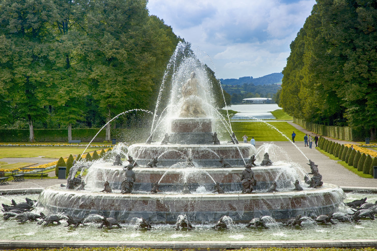 Flowing Water Fountain Fountains Motion Nature No People Outdoors Spraying Travel Destinations Water