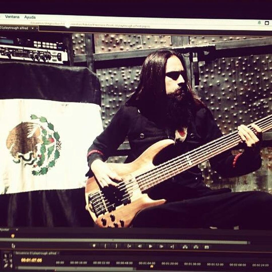 "Check a lil preview of the playthrough of ""CULTIVO DE IRA"" on my Instagram! Enjoying Life Check This Out Lethalcreation Playthrough Bassist Music Metal"
