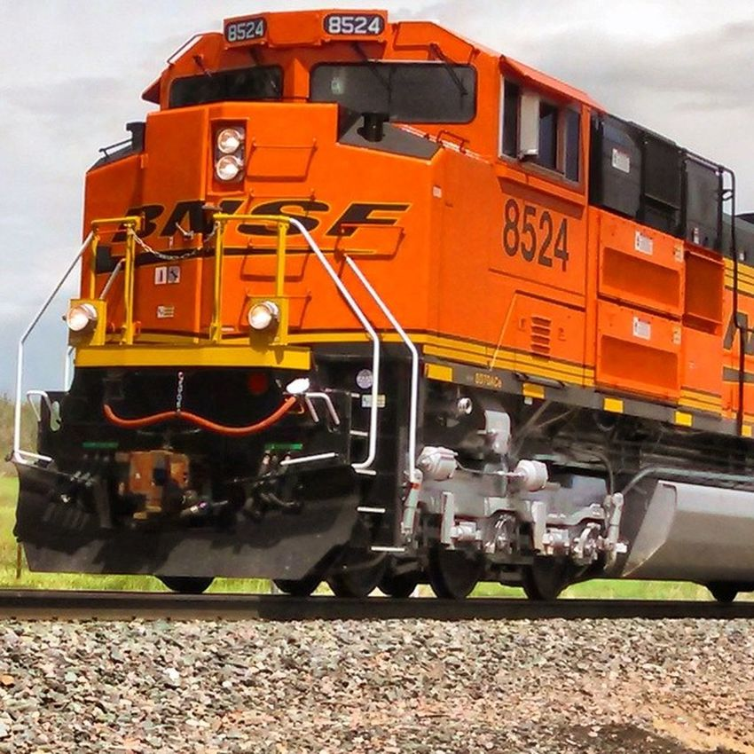 Trainspotting in Larkspur, Colorado, USA Train Trainengine Bnsf
