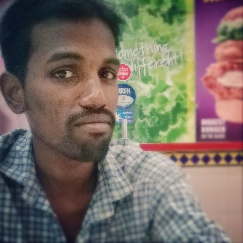 Taken by @natrajsubramanian at Marrybrown my buddy vinoth 💃