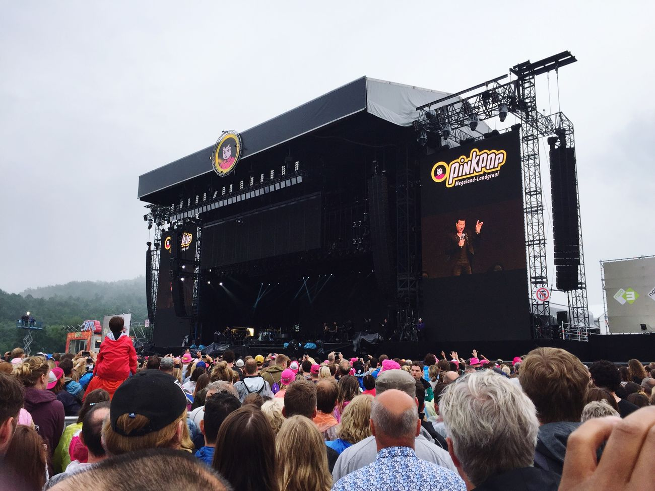 Lionel Richie Live Music Pinkpop 2016 Festival Awesome Weekend Enjoying Life Drinking With Friends