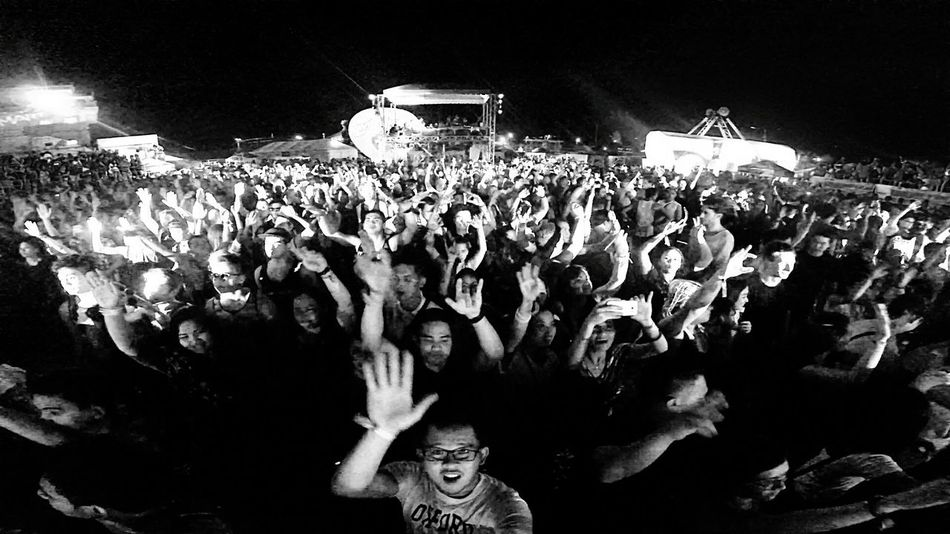 Stand Out From The Crowd Festival Check This Out Enjoying Life Lifedance2015 Cebu Philippines Bnw Bnw_friday_eyeemchallenge Bnw_society