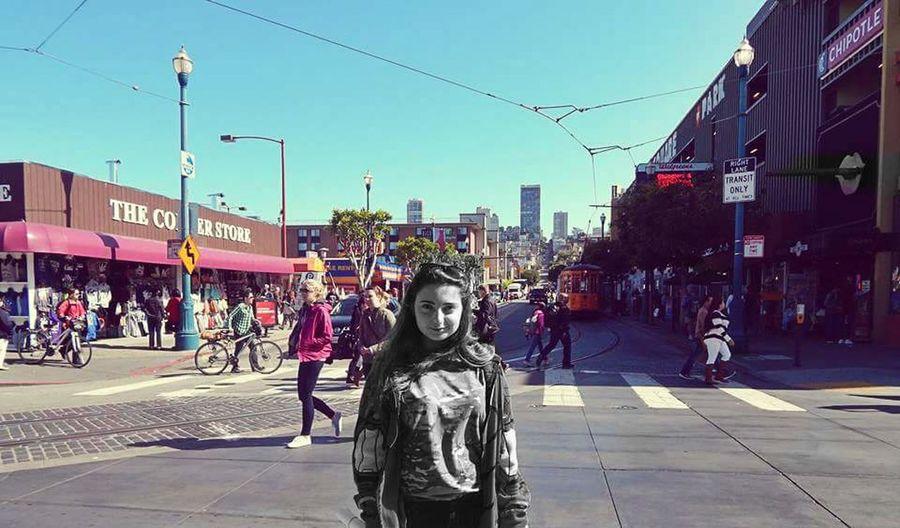 San Francisco California Blackandwhite Colorful City Street Vintage Memories Aesthetics