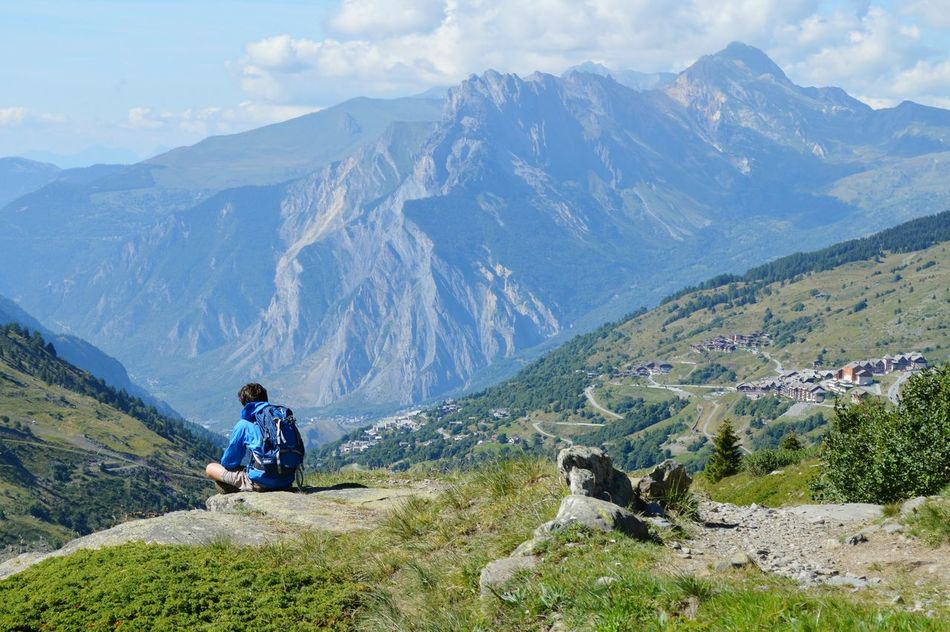 Montagnes 🌲🍃 Mountain Sport Travel Nature Mountain Sport Valmeinier Alpes AlpesFrancaises Alpen