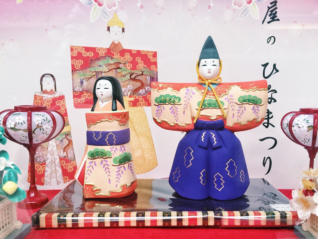 Before march ends..... a bit of Japanese tradition I miss. Human Representation Figurine  Sculpture Cultures Tradition Cultural Event Culture And Tradition Japanese Traditional Events Japanese Festivities Hinamatsuri ひな祭り Japanese Dolls Dolls Girls Day