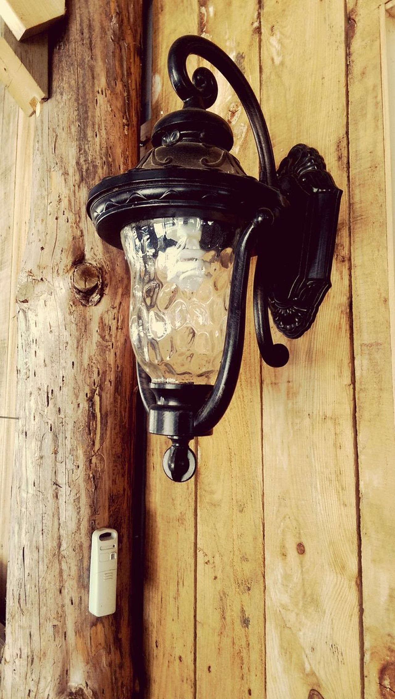 Vintage Style Lantern Wooden Post Wooden Texture Metal Country Life No People Old-fashioned Indoors  Close-up Day