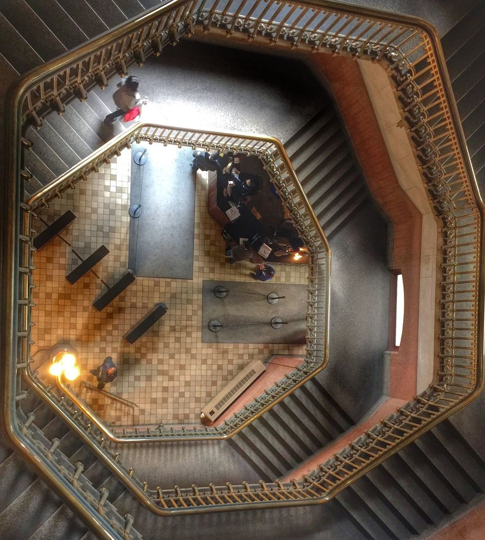 Octaganal Staircase Philly Photo Day Philadelphia Spiral Staircase Awesome Staircases