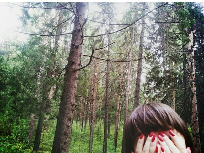 Forest Nature Relaxing That's Me Nails Green Paradise