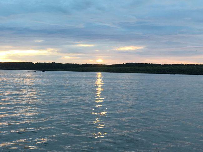 Sunset River Pomako Timika Papua