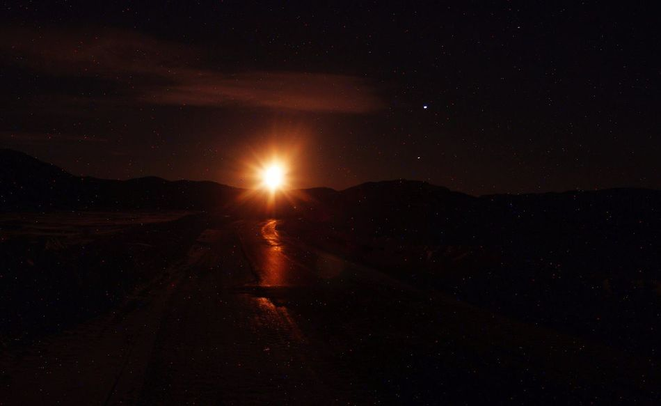 Nature Photography EyeEm Best Shots EyeEm Best Shots - Nature Check This Out The Real Greenland Moonset Moon Moonlight Moon Surface Night Nature Outdoors Scenics Nature_collection Landscape