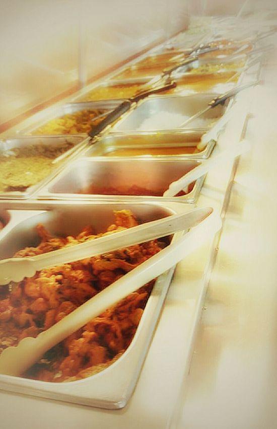 Buffet Time!!! Indian Food Enjoying Life ShareTheMeal