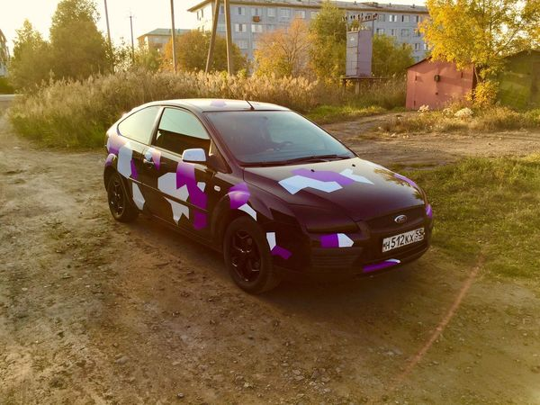 Ford Focus 2 Focus Ford Car Streetracing Transportation Land Vehicle Mode Of Transport Tree No People Outdoors Day Nature