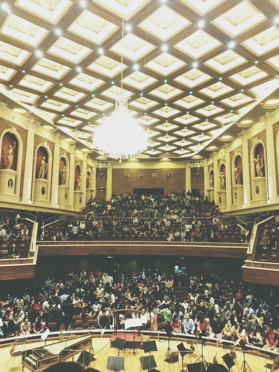 Interior Design Classic Concert Hall  Building