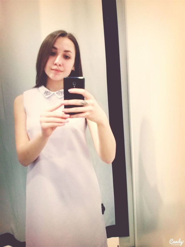 Cute Cute Dress Light New Bought This My New Dress Selfie Look Simple . Time of LONG SHOPPING,tired but happy :) finally !suitable dress