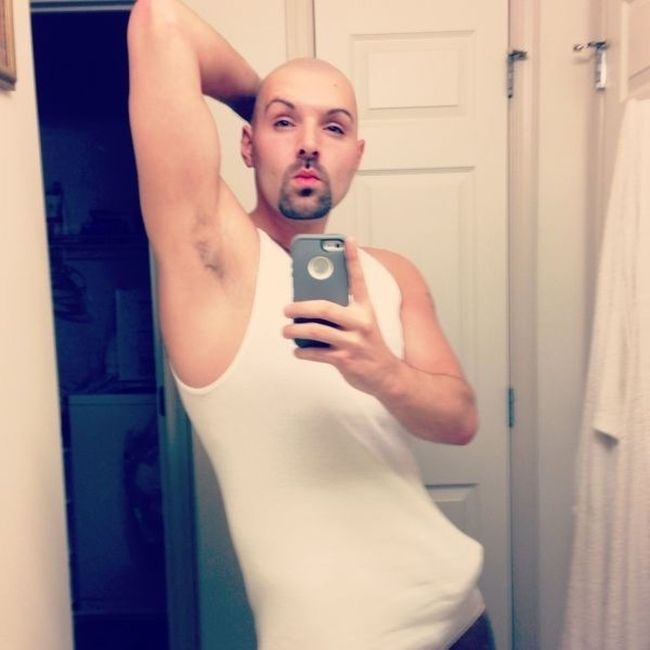 In The Bathroom Whitebeater,  Fresh Out The Shower Shaved Head