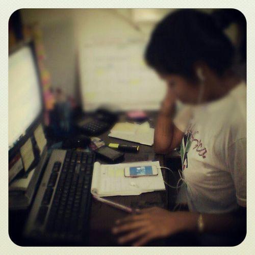 Concentracion Oficc Job Tota Ipod instagramperu igersperu instago followme