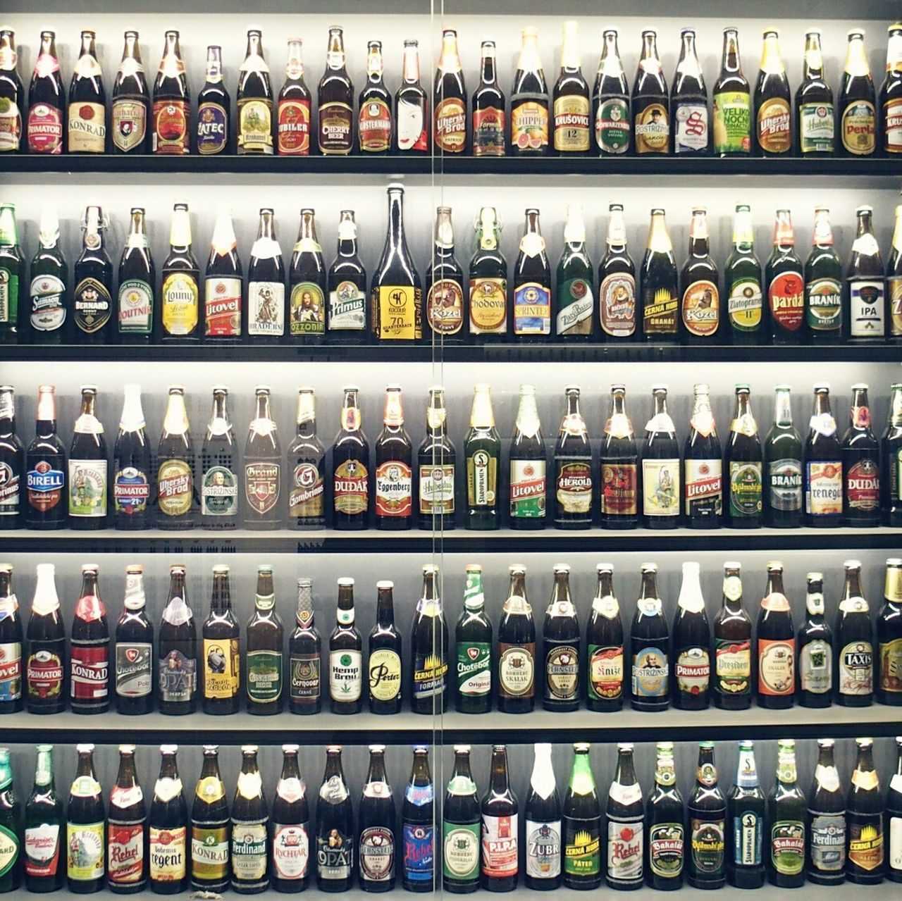 large group of objects, in a row, choice, abundance, bottle, variation, shelf, for sale, no people, arrangement, food and drink, full frame, retail, alcohol, indoors, drink, day, close-up