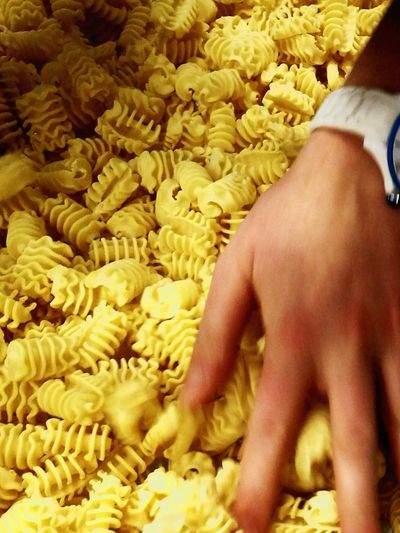 Pasta Time Pasta Work Handmade Food Lifestyles Human Hand Human Body Part Real People Close-up Indoors  Flower Adult People One Person Fragility Day