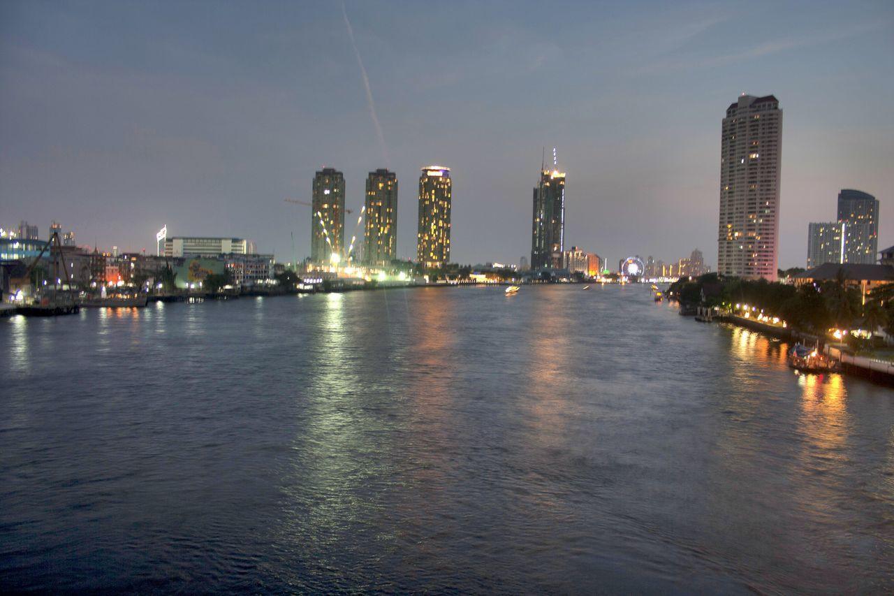 begin night life Night Life Nightlife Bridge River Chowphaya River