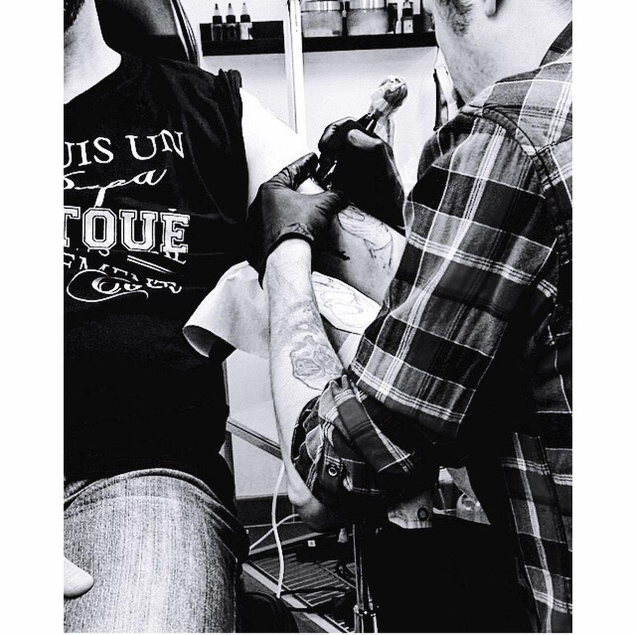 Tattoo Men My Favorite Place tribal arts