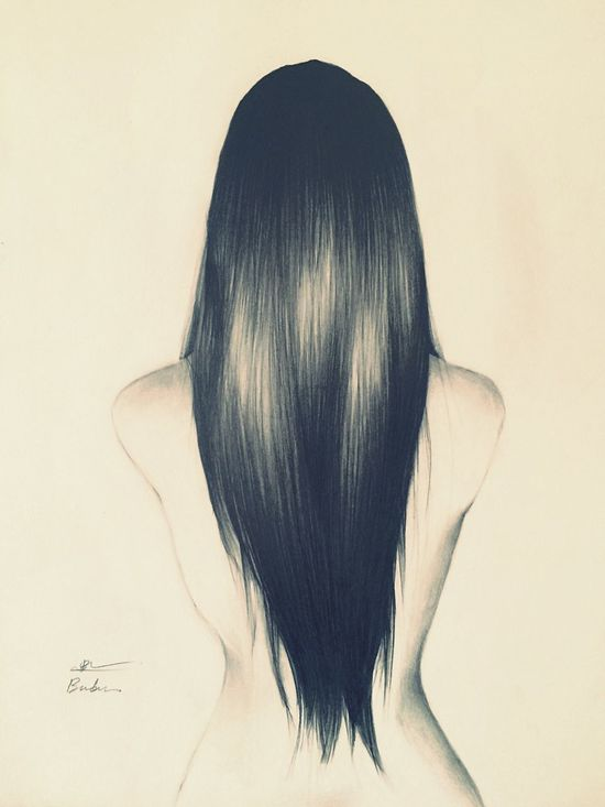 Drawing of the day Drawing Pencil Drawing Artsharing Art Artists Hairdrawing