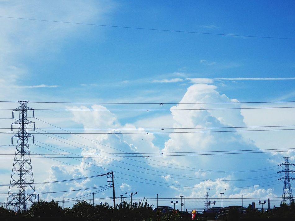 暑いねぇ OLYMPUS SH-50 Clouds And Sky
