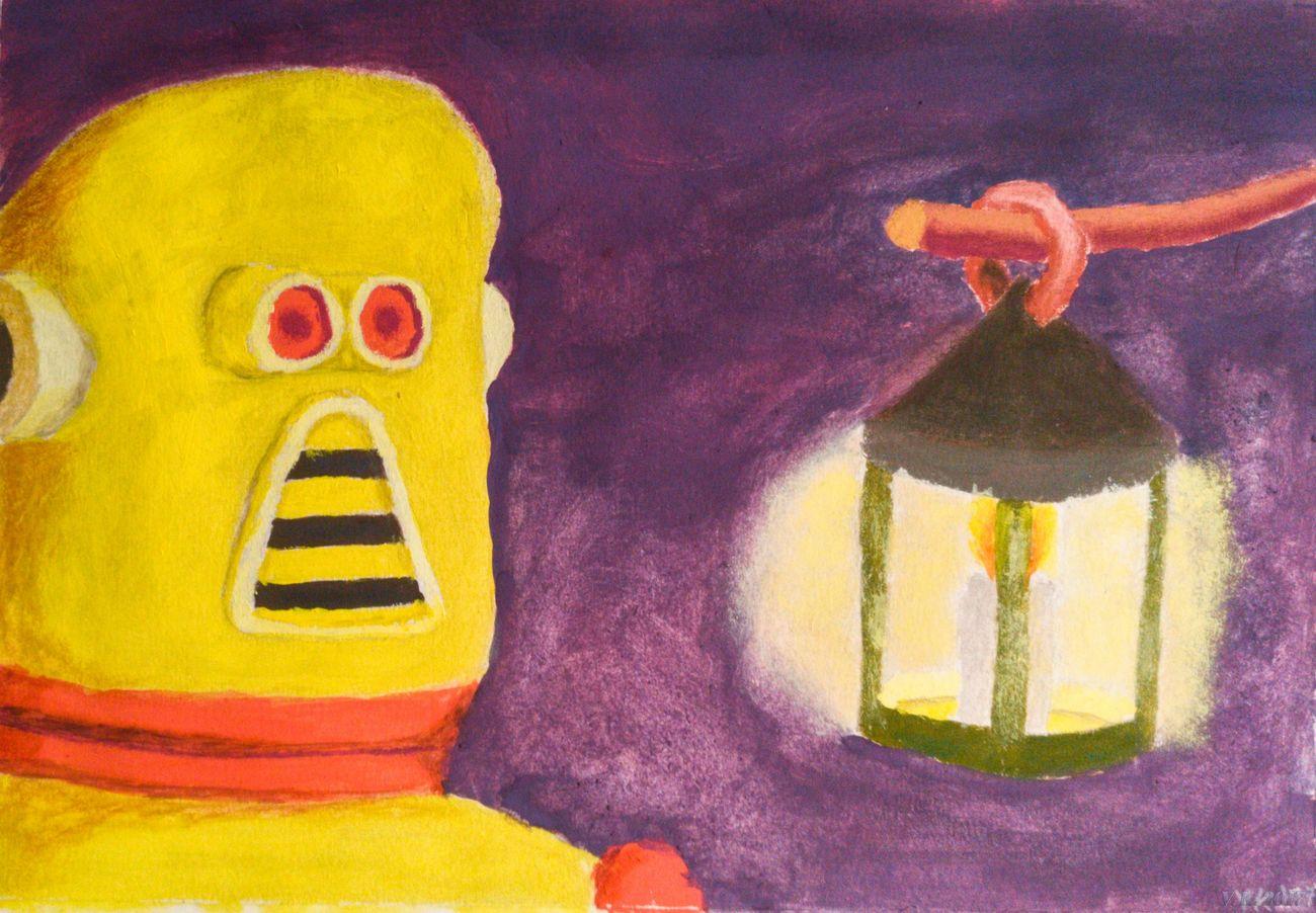 Artificial explorere - my new gouache painting Yellow Traditional Art Gouache Colors Gouache Gouache Painting MYArtwork❤ MyArt Myartwork