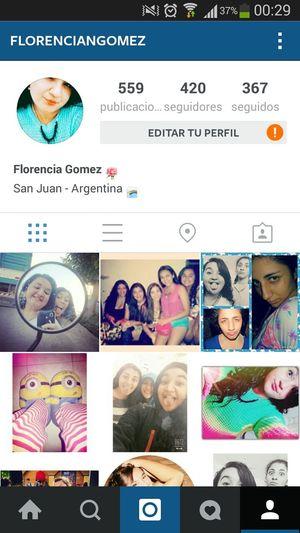 Instagram Seguime En Instagram Florenciangomez