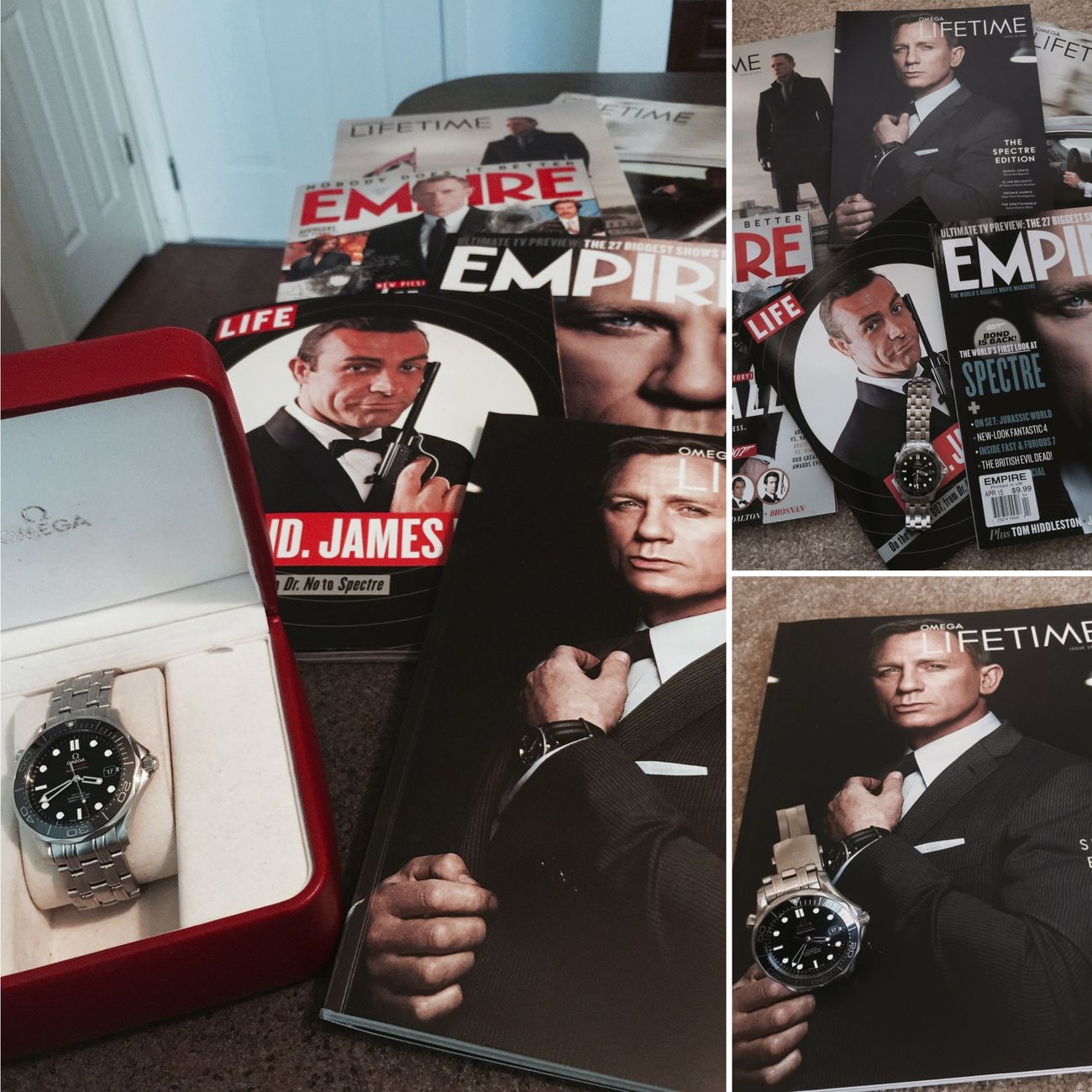 Just received the new Spectre Edition Omega Lifetime Magazine. Thank you Omega lifetime magazine. Jamesbond Omega Seamaster Omega Seamaster Omega Seamaster 300m Lifetime Magazine Omega Lifetime Magazine My Hero LGarciaPhotography IPhone Photography Iphonephotography Iphone 6 Plus IPhone Sean Connery OG New Jersey EyeEm Best Shots Eye4photography  HDR Hdr_Collection Eye4photography  EyeEm Best Edits The Best Of New York Taking Photos Check This Out