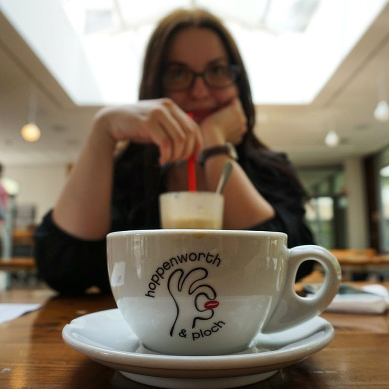 Der beste Kaffee der Stadt. Thisisffm Ffm365 Meinfrankfurt The Portraitist - 2014 EyeEm Awards Depth Of Field